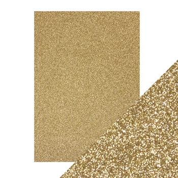 Tonic GOLD DUST A4 Glitter Card 9940e