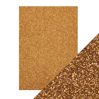 Tonic WELSH GOLD A4 Glitter Card 9942e