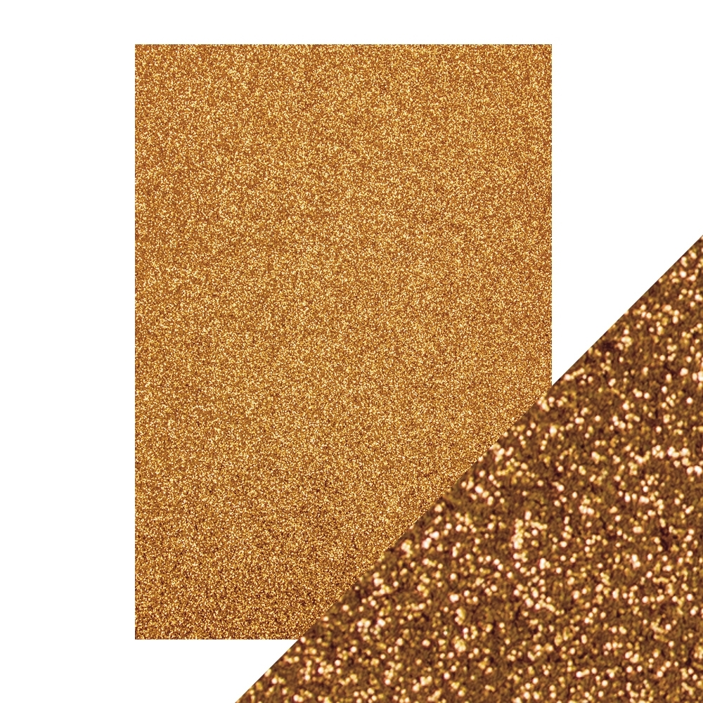 Tonic WELSH GOLD A4 Glitter Cardstock 9942e zoom image
