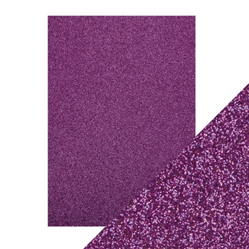 Tonic NEBULA PURPLE A4 Glitter Card 9946e