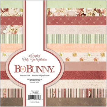 BoBunny 6 x 6 ONLY YOU Paper Pad 7310028