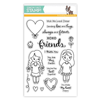 Simon Says Clear Stamps LOVE AND FRIENDSHIP sss101817 Friends
