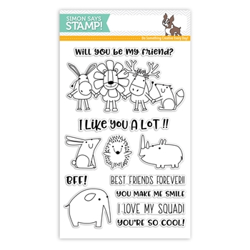 Simon Says Clear Stamps BEST FRIENDS sss101799 Friends