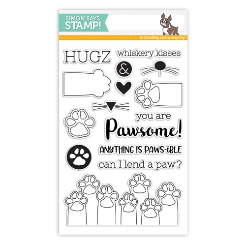 Simon Says Clear Stamps PAWS-ITIVITY sss101801 Friends Preview Image