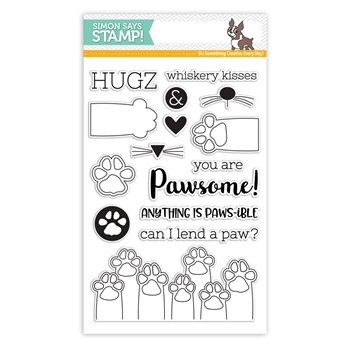 Simon Says Clear Stamps PAWS-ITIVITY sss101801 Friends