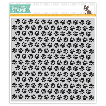 Simon Says Cling Rubber Stamp PAWS Background sss101808 Friends