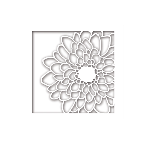 Simon Says Stamp Mum Flower Frame Wafer Dies Sssd111775 Friends At