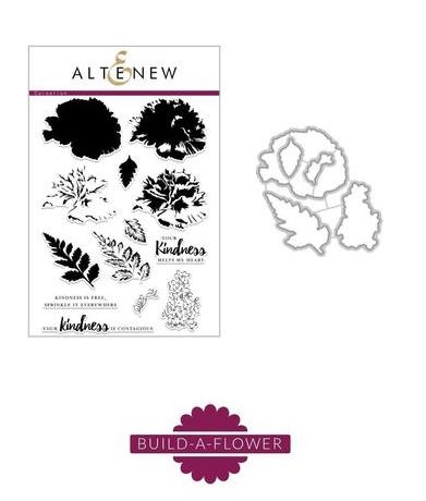 Altenew BUILD A FLOWER CARNATION Clear Stamp and Die