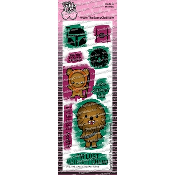 The Sassy Club USE THE SASS Clear Stamps tscl113