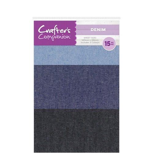 Crafter's Companion DENIM Craft Material Pack cc-denim Preview Image