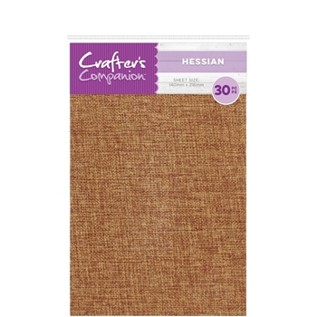 Crafter's Companion HESSIAN Craft Material Pack cc-hess