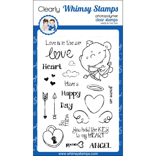 Whimsy Stamps CUTE CUPID Clear Stamps cwsd255* Preview Image