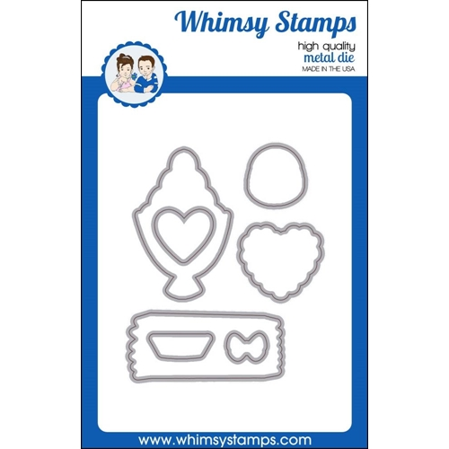 Whimsy Stamps CRAZY FOR CHOCOLATE Die Set wsd413* Preview Image