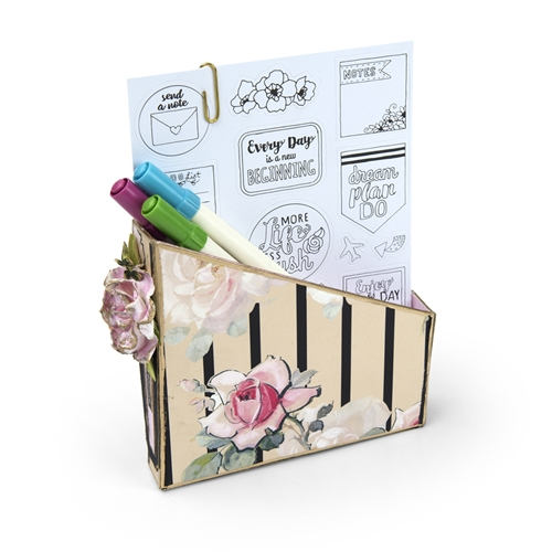 Sizzix CARD BOX, PLANNER STORAGE AND ORGANIZER ScoreBoards XL Die 662361 Preview Image