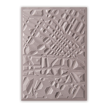 Sizzix Textured Impressions MAP 3D Embossing Folder 662456