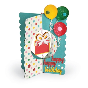Sizzix CARD GIFT Thinlits Die Set 662350