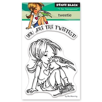 Penny Black Clear Stamps TWEETIE 30-456