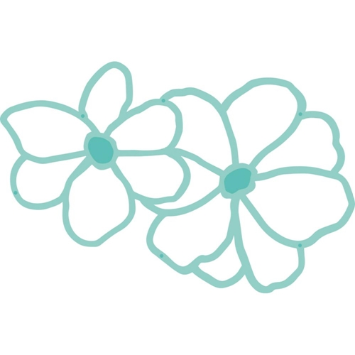 Kaisercraft HANAMI FLOWERS Decorative Die DIY Cuts DD469 Preview Image