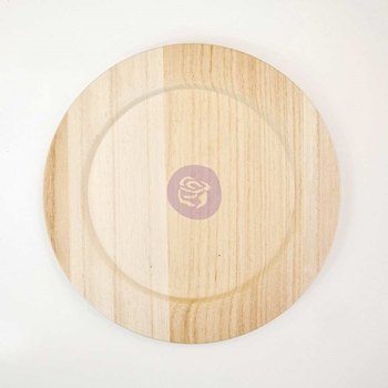 Prima Marketing 10 INCH WOOD PLATE BLANK 816858