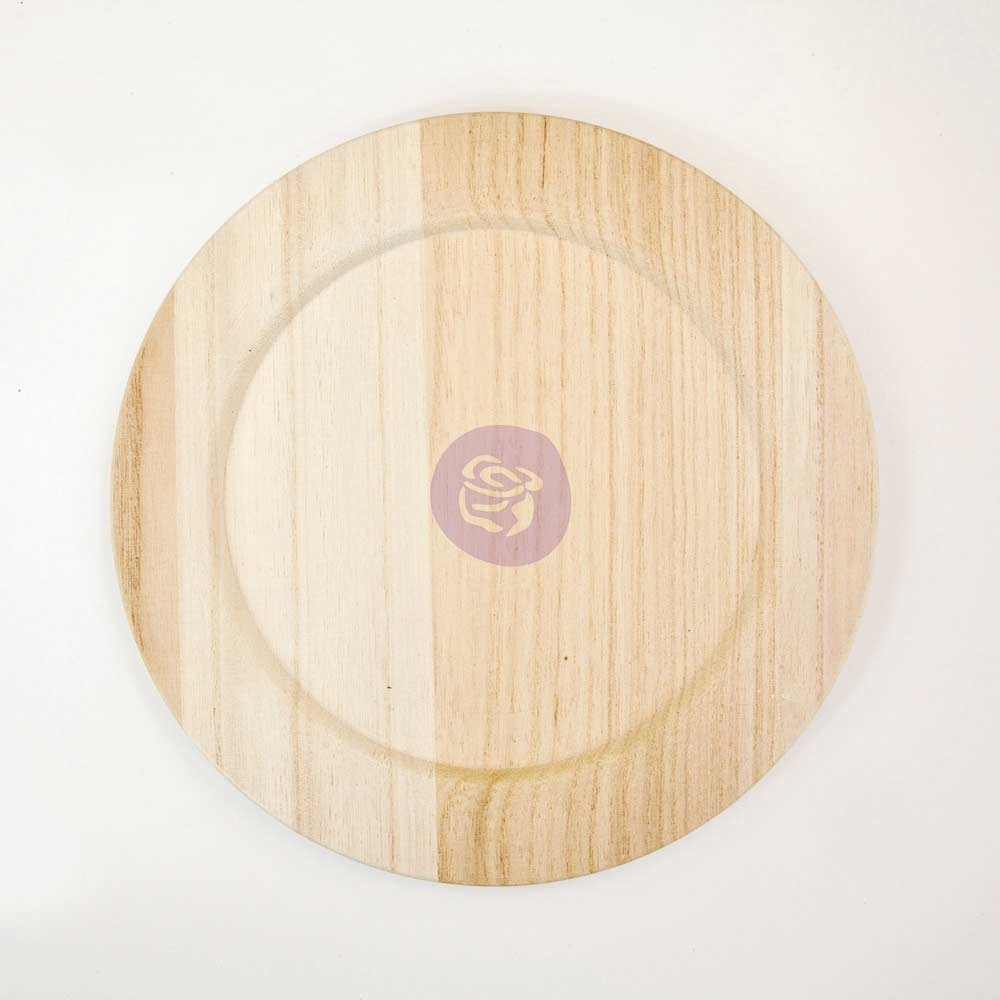 Prima Marketing 10 INCH WOOD PLATE BLANK 816858 zoom image