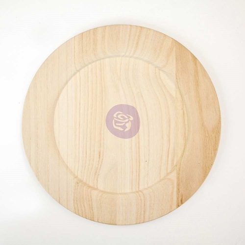 Prima Marketing 12 INCH WOOD PLATE BLANK 816865 Preview Image