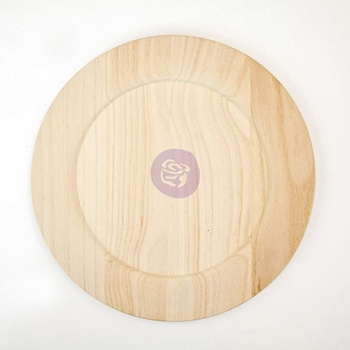 Prima Marketing 12 INCH WOOD PLATE BLANK 816865