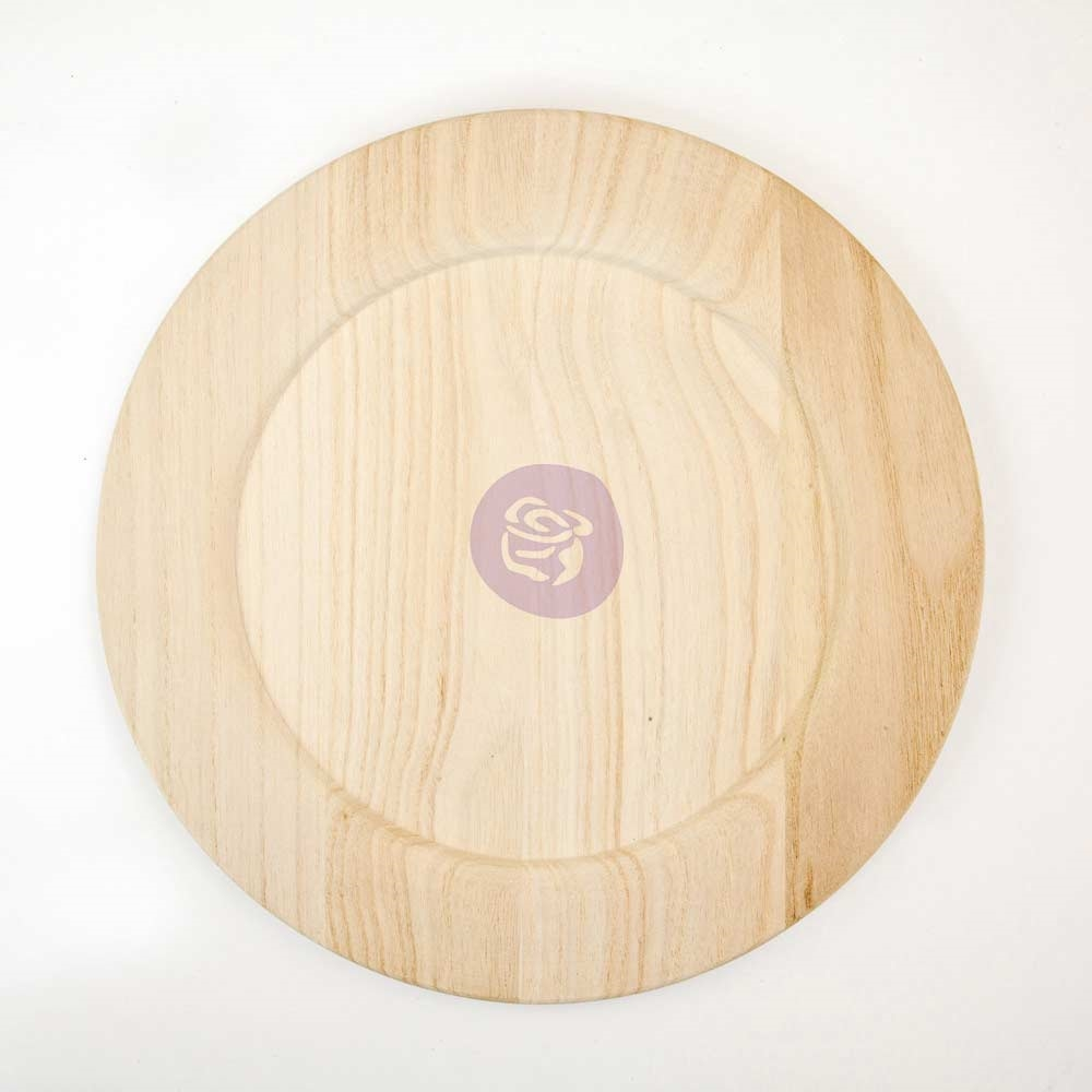 Prima Marketing 12 INCH WOOD PLATE BLANK 816865 zoom image