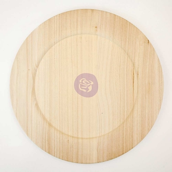 Prima Marketing 14 INCH WOOD PLATE BLANK 816872