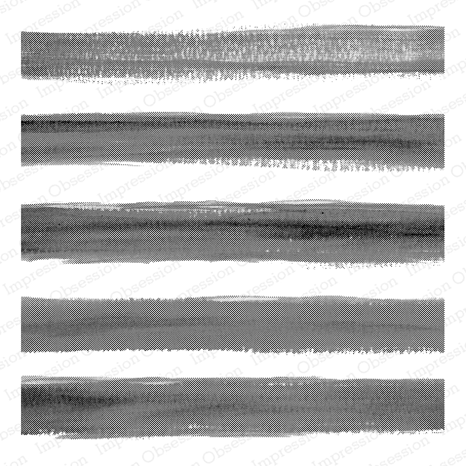 Impression Obsession Cling Stamp WIDE WATERCOLOR STRIPE Cover a Card CC299 zoom image