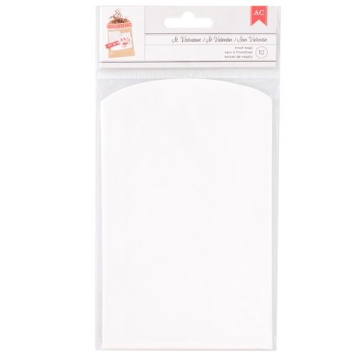 American Crafts WHITE TREAT BAGS 98497 Preview Image