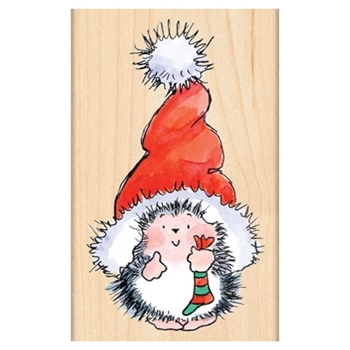 Penny Black Rubber Stamp SANTA'S HAT 4283K