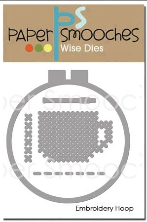 Paper Smooches EMBROIDERY HOOP Wise Dies J1D422 Preview Image