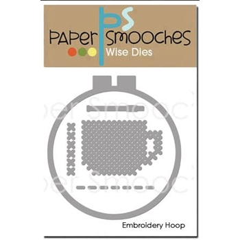 Paper Smooches EMBROIDERY HOOP Wise Dies J1D422