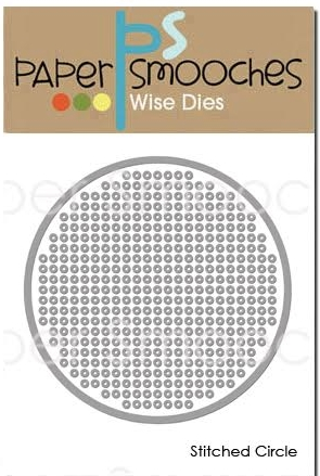 Paper Smooches STITCHED CIRCLE Wise Dies J1D423 zoom image
