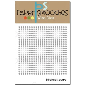 Paper Smooches STITCHED SQUARE Wise Dies J1D424