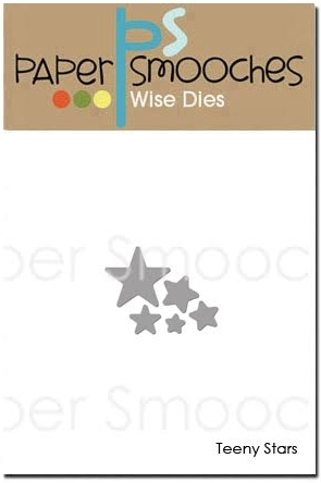 Paper Smooches TEENY STARS Wise Dies J1D425 Preview Image