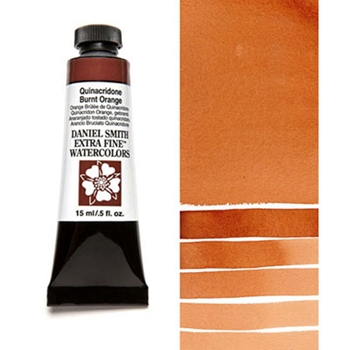 Daniel Smith QUINACRIDONE BURNT ORANGE 15ML Extra Fine Watercolor 284600086