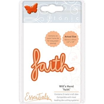 Tonic FAITH Miniature Moments Sentiment Die 1888e