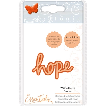 Tonic HOPE Miniature Moments Sentiment Die 1889e