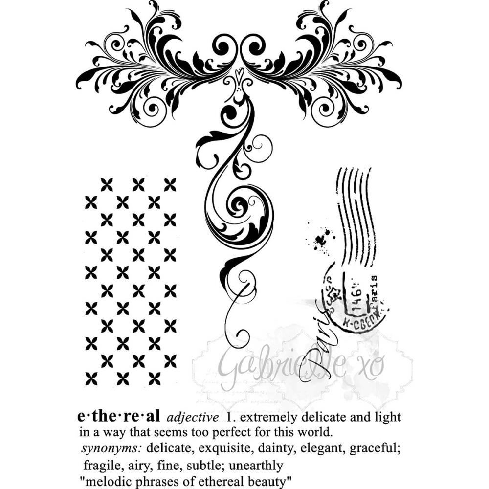49 and Market GABI'S ETHEREAL Clear Stamp Set GP-85564* zoom image