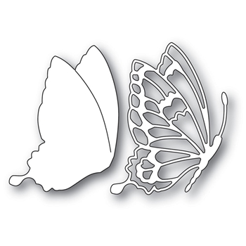 Memory Box DRIFTING SIDE BUTTERFLY Craft Die 99900