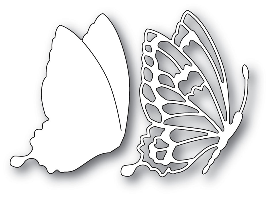 Memory Box DRIFTING SIDE BUTTERFLY Craft Die 99900 zoom image