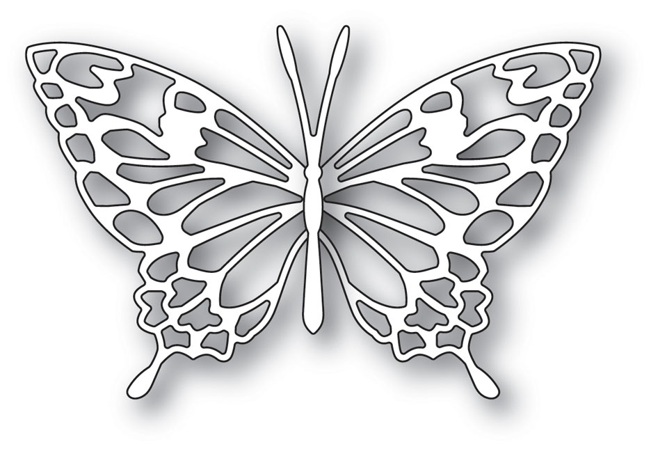Memory Box ADORA BUTTERFLY Craft Die 99917 zoom image