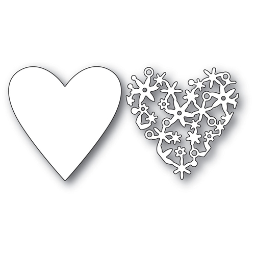 Memory Box LACE CUT HEART Craft Die 99939 Preview Image