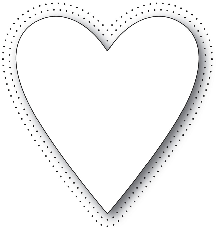 Memory Box PINPOINT HEART Craft Die 99950 zoom image