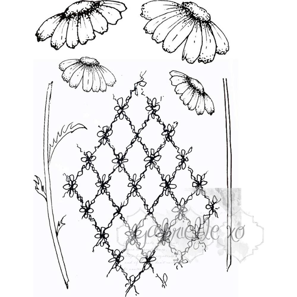 49 and Market GABI'S DAISIES Clear Stamp Set GP-4710 zoom image