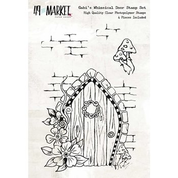 49 and Market GABI'S WHIMSICAL DOOR Clear Stamp Set GP-86615