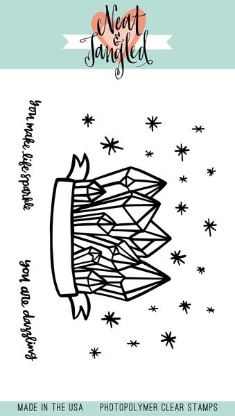 Neat and Tangled DAZZLING Clear Stamp Set NAT335 zoom image