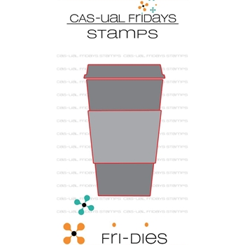 CAS-ual Fridays TO GO CUP Fri-Dies CFD1802