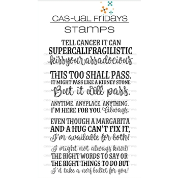 CAS-ual Fridays SUPERCALIFRAGILISTIC Clear Stamps CFS1805